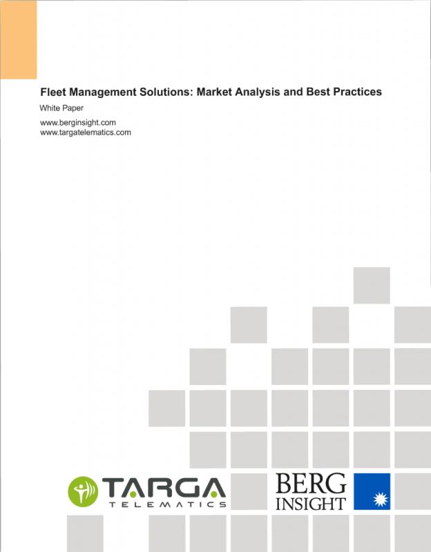Fleet Management Targa Telematics White Paper Berg Insight